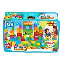 Конструктор Mega Bloks Давайте вчитися 150 деталей в сумці, FVJ49