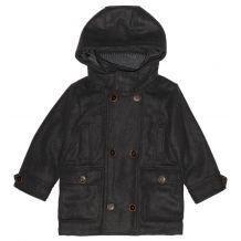 Зимнее серое пальто для мальчика, Mayoral, 4496