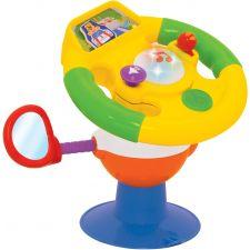 Игрушка на присоске Kiddieland Разумное руль со светом и звуком, 058305