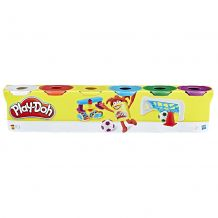 Набір пластиліну Play Doh 6 баночок, Hasbro, C3898