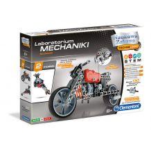 Конструктор из серии Лаборатория механики - Мотоцикл и автомобиль, Сlementoni, 60955