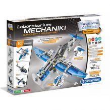 Конструктор з серії Лабораторія механіки - Літаки і Гелікоптери, Сlementoni, 60950