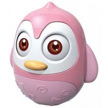 Рожевий пінгвінчик-неваляшка, Babymix,HS-0202