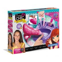 "Творческий набор Crazy Chic ""Сияющие ногти"", Clementoni, 78291"