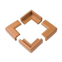 М'які накладки на кути коричневі 4шт., BabyOno, 949