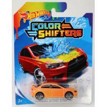 Машинка меняющая цвет Mitsubishi Lancer Evolution Hot Wheels, BHR15 / FPC54