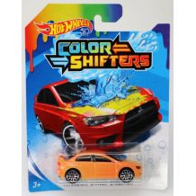 Машинка що змінює колір Mitsubishi Lancer Evolution Hot Wheels, BHR15 / FPC54