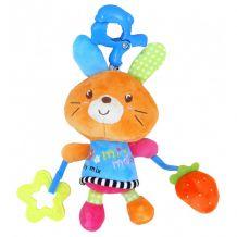 """Музыкальная игрушка-подвеска """"Зайчик"""", Baby Mix, P1121-EU00"""