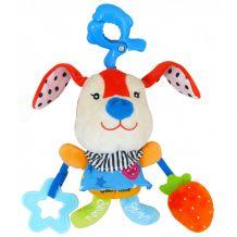"""Музыкальная игрушка-подвеска """"Красный Кролик"""", Baby Mix, P1126-DAAL"""