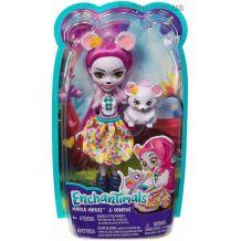 Лялька Enchantimals Мишеня Майла і Фондю 15см, FNH22/FXM76