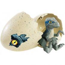 Ігровий набір Jurassic World Динозаври-дитинчата Velociraptor Blue, Mattel, FMB91/FMB92