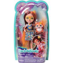 Лялька Enchantimals Фелісіті Лис 15см, (оновлена) DVH87 / FXM71