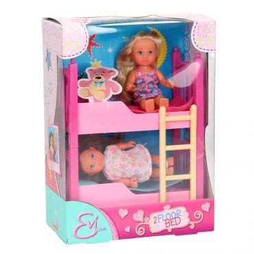 """Ігровий набір з ляльками Еві """"Двоповерхова ліжечко"""", 5733847"""