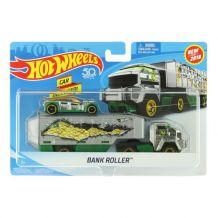 Машина дальнобойщика Bank Roller Hot Wheels, BDW51