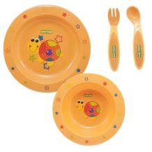 Набор для кормления оранжевый, Baby Team, 6010