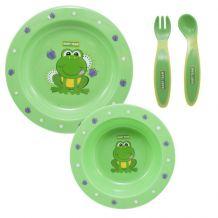 Набір для годування зелений, Baby Team, 6010