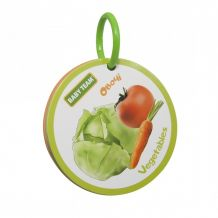 """Книжка-іграшка """"Фрукти-овочі"""", 12+, Baby Team, 8730"""