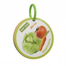 "Книжка-игрушка ""Фрукты-овощи"", 12+, Baby Team"