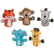 Набор игрушек на пальцы «Веселая детвора» 5 шт., Baby Team, 8700