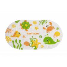 Килимок для ванни, 0 +, Baby Team, 7415