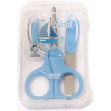 Манікюрний набір в футлярі синій, Lindo, LI801