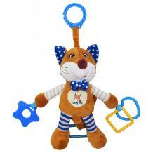 """Іграшка з вібрацією """"Лисичка"""" синя, Baby Mix, STK-17509B"""