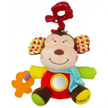 """Музыкальная игрушка-подвеска """"Обезьянка"""", Baby Mix, P/1175-EU00"""