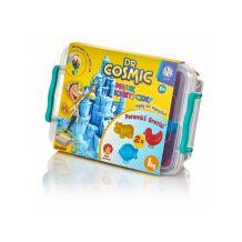 Ігровий набір для творчості KINETIC SAND фіолетовий+ 2 формочки 1кг, Astra, 336117059