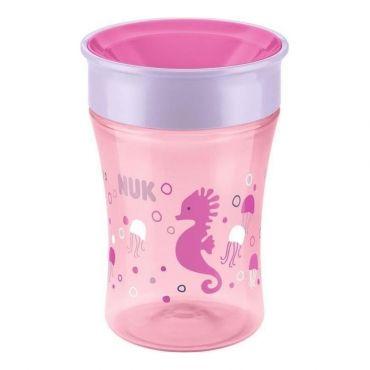 """Чашка """"Magic Cup"""" рожева 230мл, NUK, 10255248"""