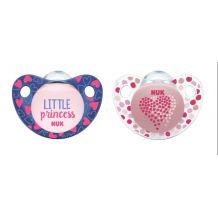 """Набір пустушок """"Little Princess"""", 0-6 міс, NUK, 10730072"""