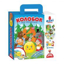 """Подорож казкою """"Колобок"""", Vladi Toys, VT2909-09"""