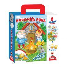 """Подорож казкою """"Курочка Ряба"""", Vladi Toys, VT2909-10"""