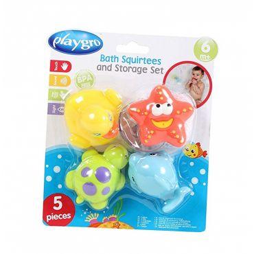 Набір іграшок-порскавок для ванної Playgro , 0185452