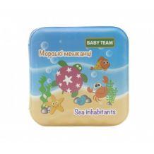 Книжка-игрушка «Морские обитатели», 6+, Baby Team, 8740