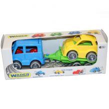 """Набір авто """"Kid cars Sport"""" 3 ел. (автобус+гольф), Wader, 39541"""
