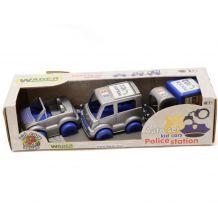 """Машинки """"Поліцейський"""" Kid Cars 3 шт , 39548"""