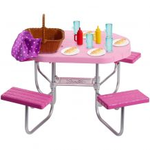 """Набір меблів """"Стіл для пікніка"""" Barbie, FXG37/FXG40"""