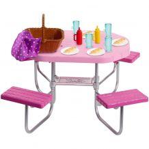 """Набор мебели """"Стол для пикника"""" Barbie, FXG37 / FXG40"""