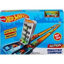 "Трек ""Змагання із дрег-рейсінгу"", Hot Wheels, GBF81/GBF82"