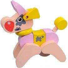 Дерев'яна іграшка Корівка-акробат LA-4, Cubika, 12442