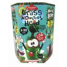 "Набор креативного творчества ""Grass Monsters Head"", Danko Toys, GMH-01-07U"