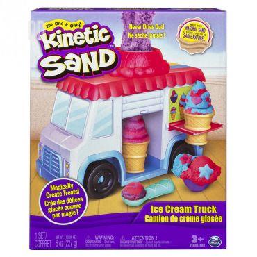 """Ігровий набір для творчості Kinetic Sand """"Фургончик з морозивом"""", 227г, 6035805"""