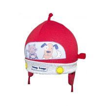Демісезонна червона шапка