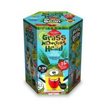 """Набір креативної творчості """"Grass Monsters Head"""", Danko Toys, GMH-01-01U"""
