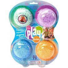 Набор шарикового пластилина Educational Insights Морской бриз 4 цвета, Playfoam, EI-1900