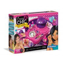 """Творческий набор Crazy Chic """"Студия маникюра"""", Clementoni, 78339"""