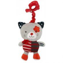 """Музична іграшка-підвіска """"Червоний котик"""", Baby Mix, P/1209-EU00"""