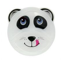Тарелочка детская, секционная серая панда, Baby team, 6000