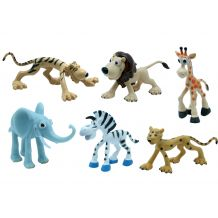 "Набір іграшок-фігурок ""Сафарі"" 6 шт, Baby team, 8830"