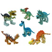 "Набор игрушек-фигурок ""Динозавры"" 6 шт, Baby team, 8832"